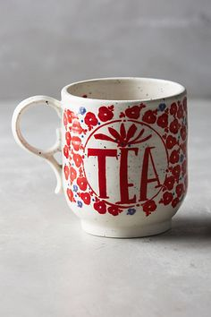 Sweetly Stated Mug #anthropologie