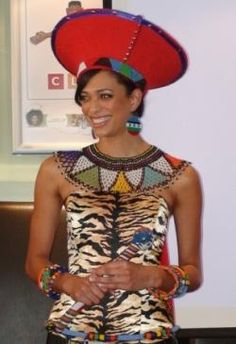 Google Image Result for http://www.southafricanbride.co.za/wp-content/uploads/2012/06/Former-Miss-SA-in-Zulu-Wedding-Gown.jpg