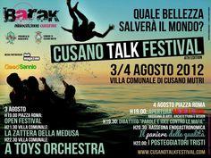 #cusano talk festival - arte, musica, cultura www.cusanotalkfestival.com