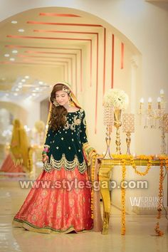 100 Latest Mehndi Dresses Lehengas Ideas Mehndi Dress Bridal Mehndi Dresses Dresses