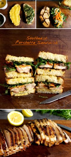New Recipe.  I-Think-It's-Asian Porchetta Sandwich 火烤五花三明治.  http://www.ladyandpups.com/2012/07/11/asian-porchetta-sandwich-eng/
