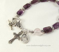 St Therese Rosary Bracelet