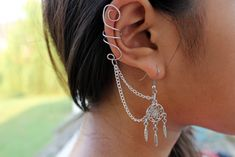 earring, dream catcher