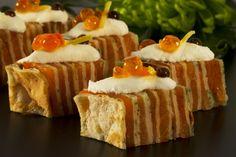 Salmon Caviar, Canapes, Pancake, Stuffed Peppers, Fish, Desserts, Tailgate Desserts, Deserts, Pancakes