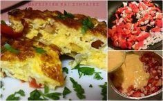 ΜΑΓΕΙΡΙΚΗ ΚΑΙ ΣΥΝΤΑΓΕΣ: Ομελέτα φούρνου γευστικότατη στα γρήγορα για εύκολη λύση !!!
