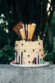 milkbar strawberry milk cake pocky fork to belly