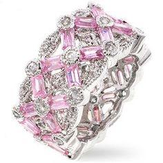 Pink Ice Kerrigan Ring