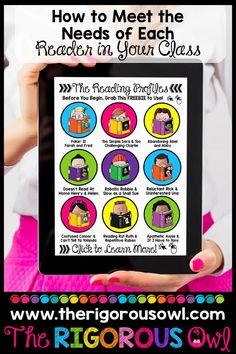 Identify 9 types of struggling readers in your classroom and learn how to help each one!