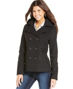American Rag Hooded Peacoat from Macy s! I ve been looking for one of good 82e3f1eb76