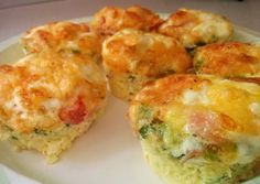 Muffin Tin Omelets Recipe -  Very Delicious. You must try this recipe!