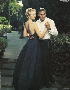 """""""George Clooney is like a Chanel suit--he'll never go out of stye."""" Love that he can dance or ever just try!"""