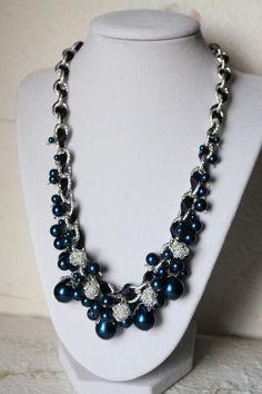 Blue inspire  Free shipping  by OriginalByRegina on Etsy, $38.00