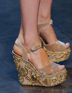 TREND - Dolce & Gabbana Fashion Week SS14: Shoes | ELLE UK