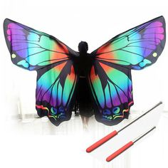 Belly Dancing Painstaking Led Shining Wings Girls Wings Colors Dancer Props Wings Belly Dance Lamp Props Women Belly Dance Open 360 Degrees