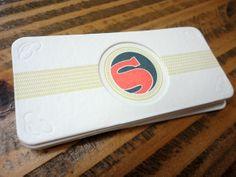 The Beauty of Letterpress: Somersault Letterpress Business Cards