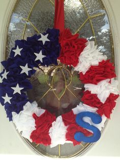DIY Decor for Your Home: Americana Wreath