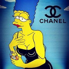 #MarilynMonroe #Simpsons #FotoClasica #SelfieDonnaBella