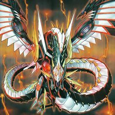 Number Heart-eartH Chaos Dragon by 1157981433 on DeviantArt Dragon 2, Chaos Dragon, Fantasy Dragon, Fantasy Art, Yugioh Dragon Cards, Yugioh Dragons, Yu Gi Oh, Yugioh Monsters, Fantasy Beasts