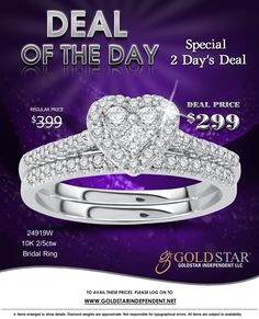 Check out amazing Deal by Gold Star Independent LLC.