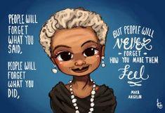 Maya Angelou by Chibi-Joey