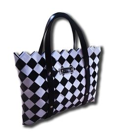 The Chess Summer Bag - Selected Bags Austria Summer Bags, Diaper Bag, Black And White, Fashion, Chess, Slippers, Monochrome, Colors, Moda