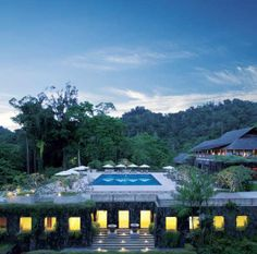 Went for dinner here one night, pretty but not as nice as I thought it would be - The Datai Langkawi