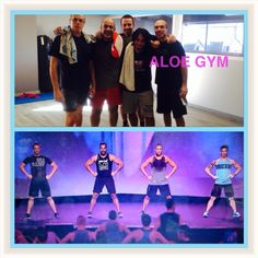 BodyVive Men's team of Aloe Gym!!! We follow the steps of LMI male presenters!!!