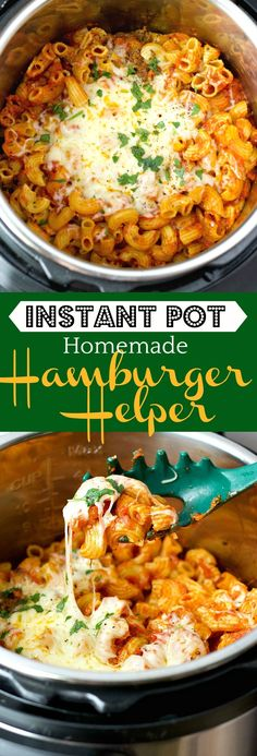 Take comfort food to the next level with this MEGA delicious Instant Pot Homemade Hamburger Helper!