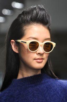 balmaino:   mihaliko:  Karen Walker F/W 2012  fashionista click here
