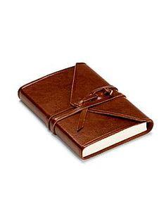 Aspinal of London Envelope Wrap Sml Notebook - House of Fraser