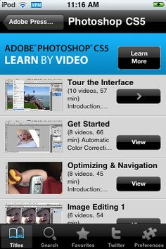 Introducing the Learn by Video app, a revolutionary way for you to learn Adobe software on your iPhone, iPad, or iPod touch.