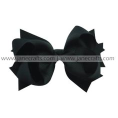hair bow clip,spike bow clip,solid spike bow clip,bow clip,pretty bow clip,hair bow clip for girls on http://www.janecrafts.com/hair-bows-with-clip/spike-bow-clips/solid-spikes