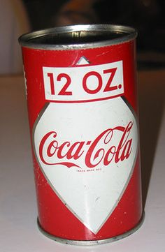 Vintage 1959 Coca Cola Coke 12 Ounce Can Canadian 12 oz Size