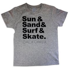 Sol Baby Sun and Surf California Grey Tee18mGrey * Click on the image for additional details. (This is an affiliate link) #BabyBoyTops