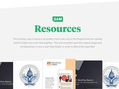 SAM : Resources designed by James for SAM. Connect with them on Dribbble; Financial Times, Brand Guidelines, The Originals