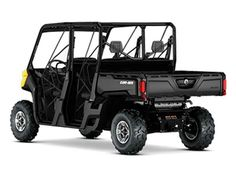 New 2016 Can-Am Defender MAX DPS HD10 ATVs For Sale in Florida. CONTROL AND COMFORT WITH ROOM FOR 6Take control with the Defender MAX DPS that features comfortable Dynamic Power Steering (DPS), lightweight wheels and tires, adaptable storage, Visco Lok QE and more to make your job easier.Features may include:HEAVY-DUTY ROTAX V-TWIN ENGINESThe Defender MAX DPS package offers two very capable true-work powerplant options. The 72-hp Rotax HD10 V-Twin is specifically tuned for serious work but…