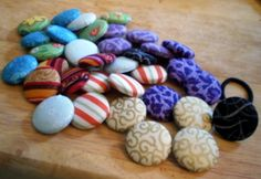 Button Button  •  Free tutorial with pictures on how to make a buttons in under 30 minutes