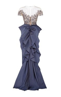 Purple Gown by Marchesa | Moda Operandi