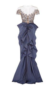 Purple Gown by Marchesa | Moda Operandi
