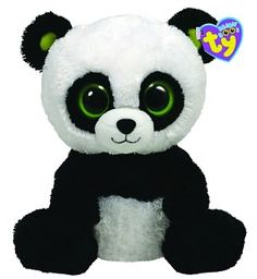 Ty Beanie Boos Plush - Bamboo panda by Ty Inc.: Product Image