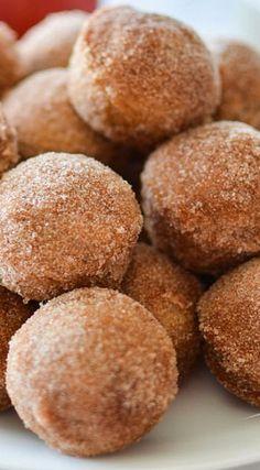 Apple Cider Baked Donut Holes