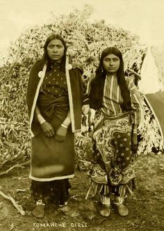 Comanche Girls, 1880's