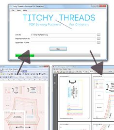 Titchy Threads - PDF Sewing Patterns for Children