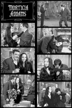 """""""Tish, you spoke French!"""" I should probably not love Gomez and Morticia Addams as much as I do. To me they had a perfect relationship. The Addams Family 1964, Addams Family Tv Show, Morticia And Gomez Addams, Morticia Adams, Family Values, Family Love, Los Addams, Charles Addams, Weird"""