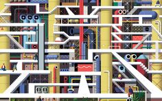 LABYRINTHES on Behance