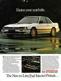 Advergaming: Advertising through video games Honda Prelude, Honda Motors, Honda Cars, New Honda, Rear Wheel Drive, Car Advertising, Japanese Cars, Small Cars, Jdm Cars