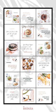 Instagram Feed Theme Layout, Instagram Feed Planner, Insta Layout, Instagram Feed Ideas Posts, Instagram Grid, Instagram Post Template, Instagram Design, Ig Feed Ideas, Web Design