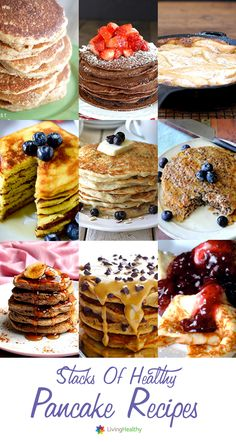 10 Out-of-the-box healthier pancake recipes.