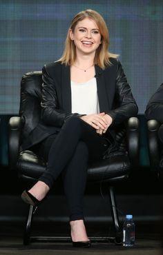 Rose McIver - iZombie Panel TCA Press Tour in Pasadena