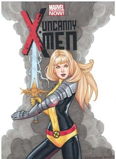 I do not own the rights to any of the art work I post, and do not take credit for them. All artists of original artwork will be tagged! Avengers Comics, Marvel Comic Books, Comic Book Heroes, Magik Marvel, Marvel X, Comic Book Girl, The New Mutants, The Uncanny, Marvel Women